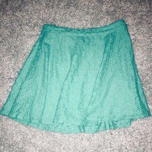 L'Amour Nanette Lepore Mint Green Skirt